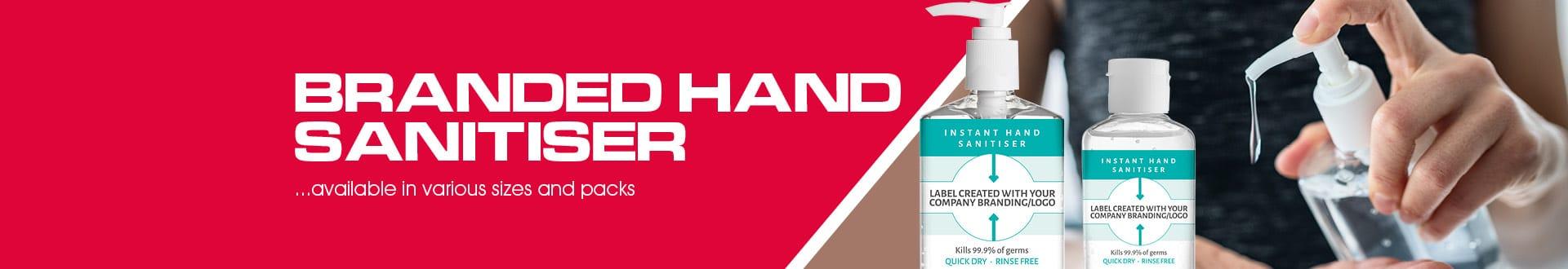 Branded Hand Sanitiser