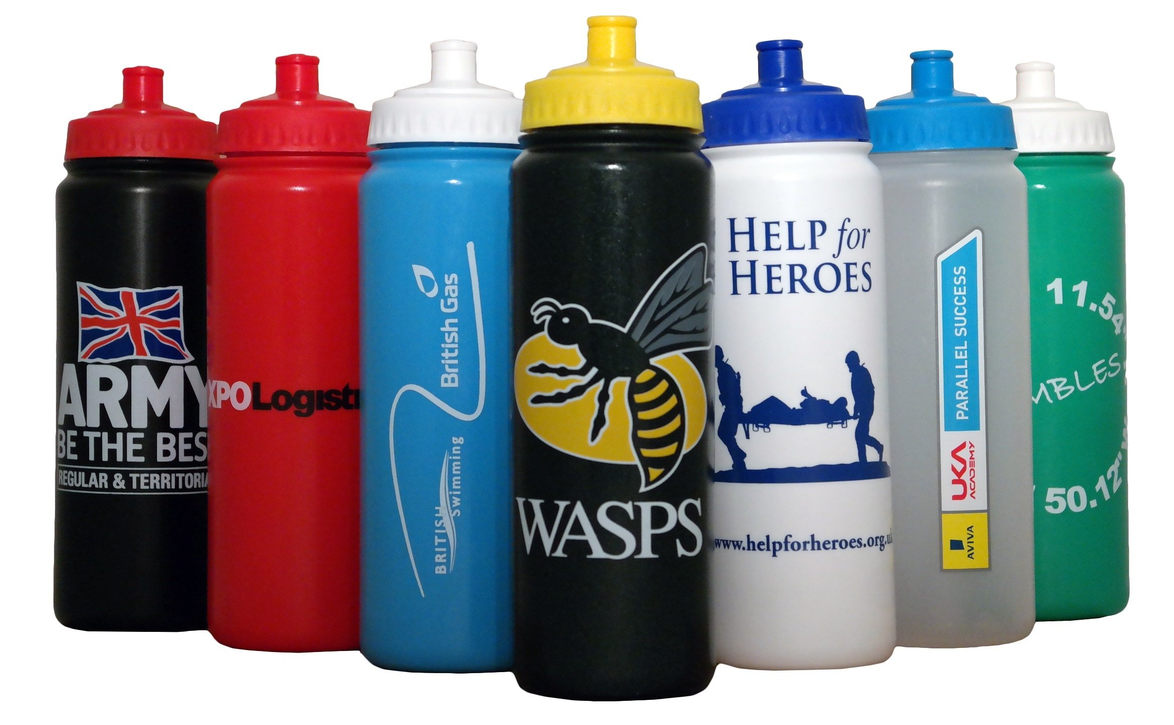 Printed Sports Water Bottle 750ml Taylor Made Designs