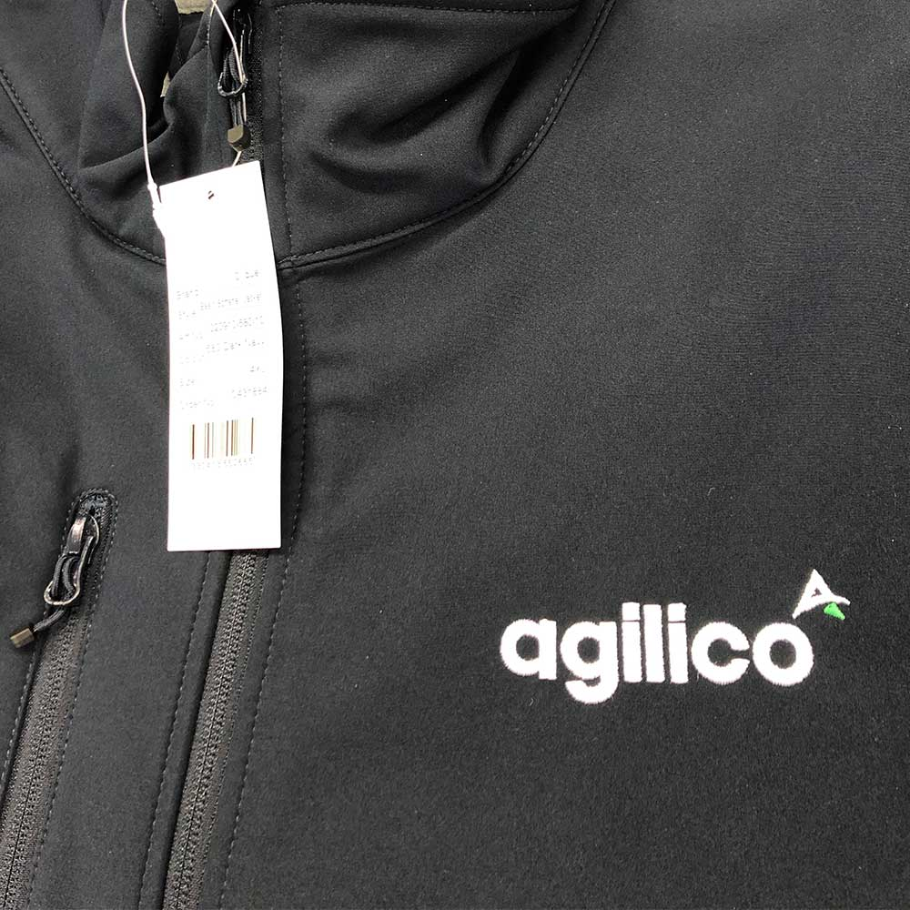 Agilico embroidered clothing