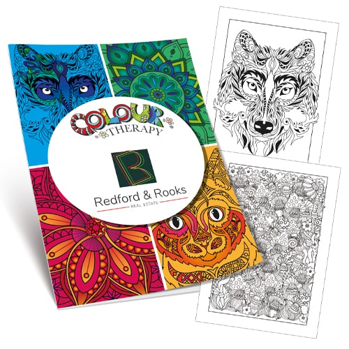 Colouring Therapy Book