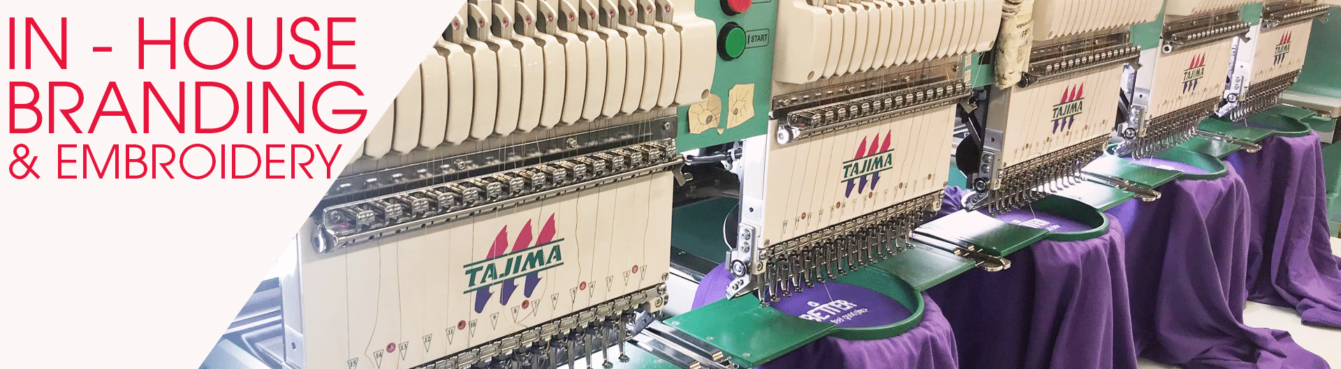 embroidery uniforms in house