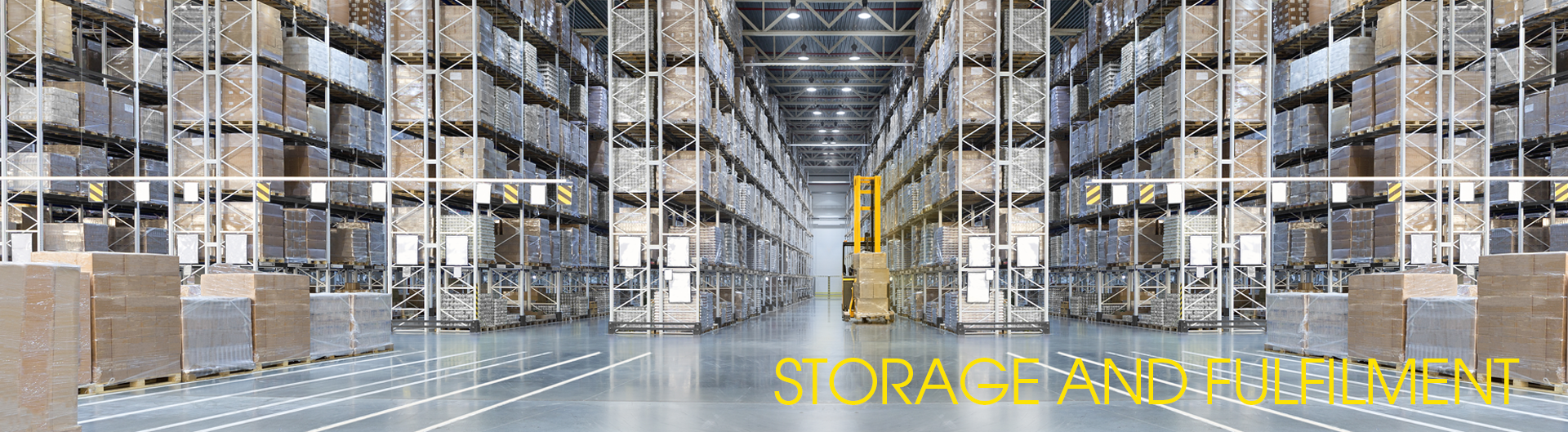 Storage and Fulfilment Banner
