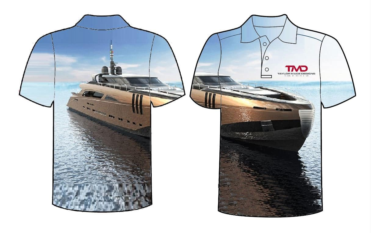 Sublimation Printed Clothing Taylor Made Designs