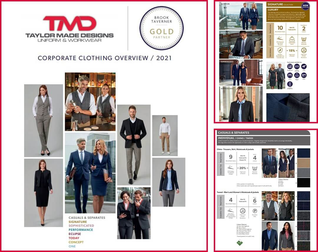 Corporate Workwear Overview Catalogue